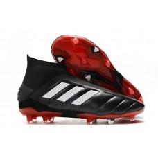 Adidas Predator Mania 19+FG - Preta/Vermelha