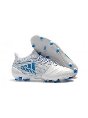 Adidas X 17.1 FG - Azul/Branca