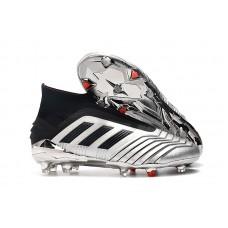 Adidas Predator 19+ FG - Silver