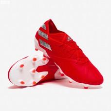 Adidas Nemeziz 19.1 FG - Active Red / Silver Met / Solar Red