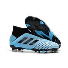 Adidas Predator 19+ FG - Preta/Azul