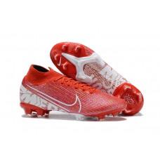 Nike Mercurial Superfly VII 360 Elite FG - Branca/Vermelha