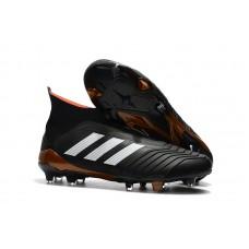 Adidas Predator 18+ Control FG - Preta/Branca