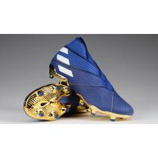 """Adidas Nemeziz 19+  FG """"Inner Game"""" - Azul"""