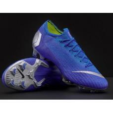 Nike Mercurial Vapor XII Elite FlyKnit Ultra FG - AZUL
