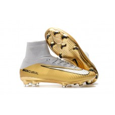 Nike Mercurial Superfly V FG - CR7 Dourada