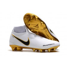 Nike Phantom Vision VSN Elite FG - White/Gold