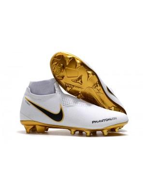 Nike Phantom Vision VSN Elite FG - White/Gold