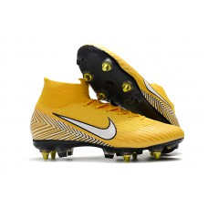 NIKE Mercurial Superfly 6 Elite 360 SG - Yellow Neymar