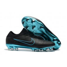 Nike Mercurial Flyknit Ultra FG - Preta/Azul