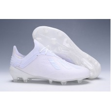Adidas X 18.1 FG - All White