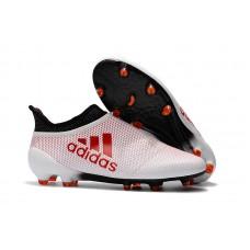 Adidas X 17+ PureChaos FG - White/Red