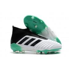 Adidas Predator 18+ Control FG - WHITE/GREEN