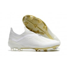 Adidas X 18+ FG - All White