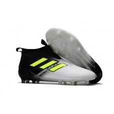 Adidas ACE 17+ PureControl FG - Branca/Preta/Amarela