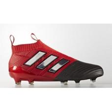 Adidas Ace 17+ PureControl FG - Preta/Vermelha