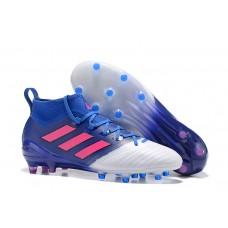 Adidas Ace 17.1 PrimeKnit FG - Azul/Branca