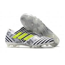 Adidas Nemeziz 17+ 360 Agility FG - Branca/Preta