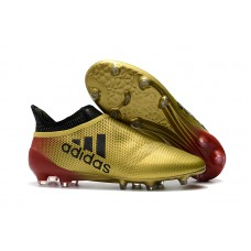 Adidas X 17+ PureChaos FG - Dourada