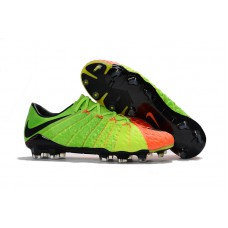 Nike Hypervenom Phantom III FG - Verde/Laranja Low