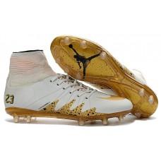 Nike Hypervenom Phantom II  Neymar/jordan - Branca/Dourada