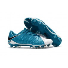 Nike Hypervenom Phantom III FG - Azul/Branca Low