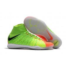 Nike HypervenomX II Proximo IC - Verde/Laranja