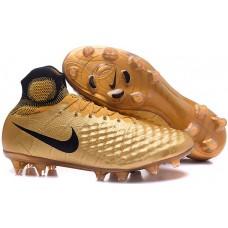 Nike Magista Obra II FG - Dourada