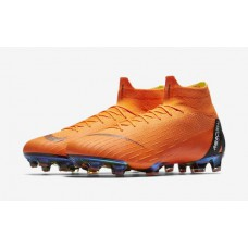 Nike Mercurial Superfly 6 Elite FG - Laranja 360