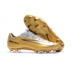 Nike Mercurial Vapor XI FG - CR7 Dourada