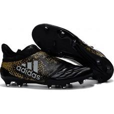 Adidas X 16+ PureChaos FG - Preta/Dourada