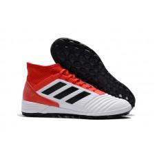 Adidas Predator Tango 18.1 TF - Branca/vermelha