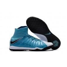 Nike HypervenomX Proximo II TF - Azul/Branca