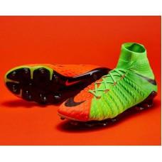 Nike Hypervenom Phantom III FG - Verde/Laranja