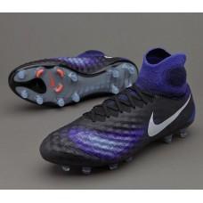 Nike Magista Obra II FG - Preta/Azul